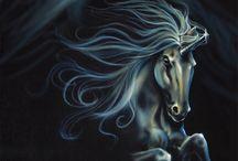 fantasy pegasus/unicorn / by Luanna Parker