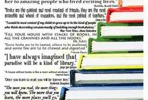Reading and Books / by Hyacinth Janecyk