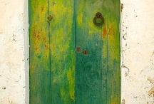 """Doors / """"In oneself lies the whole world and if you know how to look and learn, the door is there and the key is in your hand. Nobody on earth can give you either the key or the door to open, except yourself."""" -Jiddu Krishnamurti / by Maritza Lindsay"""