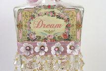 Vintage Bottle Makeovers / by Karen Bedson/Westerberg