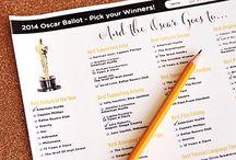 Oscar party Fun / by Nicole Dash