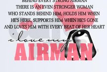 Proud Air Force Wife♡ / by Melissa Hodges