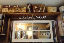 Storage / by 4 the love of WOOD