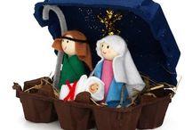 Kerst creatief / Knutselen voor kerst / by Juf Ingrid