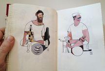 ilustración / by Mango Fresa