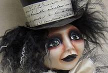 Dolls - Art/Ooak / by Mizz Debby