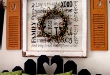 Reuse old windows / by Heather Brummett