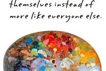 School Related-Art Ideas / by Kim Wrathall