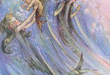 Mermaid drawings / by Ashley Mengel