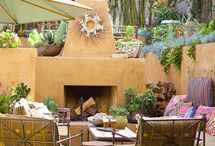 Outdoor living at American Home NM / We have the largest patio selection in New Mexico. We carry all price points and styles. / by American Home