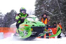 St. Germain Radar Run / Discover Wisconsin proudly presents the 11th Annual St. Germain Snowmobile Radar Run featuring Divas SnowGear and Fly Racing. This event will be headquartered on Little St. Germain Lake's West Bay. Race your snowmobile against the gun – 1000' distance! 660' and 1000' practice tracks. Visit www.radarracers.com for more information. / by St. Germain Area Chamber of Commerce, Inc.