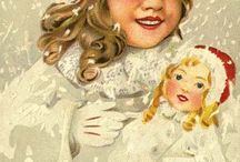 Facial Ephemera and Button Fairies / Plenty of beautiful faces to use for craft projects; Mixed Media; Collages and button fairies / by Kathy Skaggs