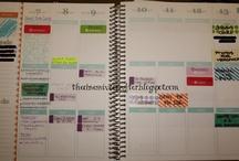 Organization:Planner Stuff / by Bonnie Woodard