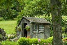 Potting Shed / by Gloria Cain