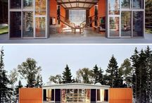 shipping container home / by Ashleigh Brown