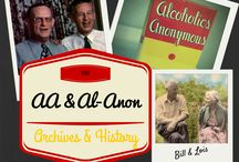 AA & Al-Anon - Archives & Memorabilia / Alcoholics Anonymous (AA) and Al-Anon (also called Alanon by some) is rich in history starting from Bill W and Bob S, and Lois and Anne. Appreciate the history, the legacy, and the miracle of recovery from 'a seemingly hopeless state of body and mind'. An important unpinning of the foundation of Serenity Vista Alcohol & Drug Addiction Rehab Treatment Center, 12 step based, and holistic. Visit them at www.serenityvista.com / by John Derry