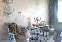 SHABBY BLOOS... / Cool..calming...blue hues...PY... / by Pauline Yvonne West