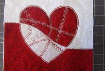 Hearts quilt / by Blanca Llama