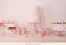 Cute {Dessert} Tables / by Danielle Slingerland - van der Aa