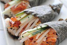 Sushi  / by Jeni DeFrenchi Gallaher