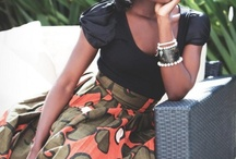 My Ankara / Ankara is an African material that is colorful and becoming increasingly popular. Have you thought of how to accessorize your ankara outfit...? / by Lola Rotimi-Sosanya
