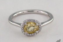 Diamond in the Rough Rings / Stunning rings featuring dimond in the rough stones. / by James Allen Jewelers