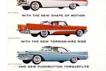 Vintage Cars / Ads / by Ernest Heinen