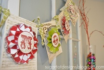 christmas crafts / by Kim Beachley
