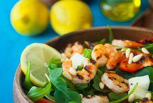 Sweet & Savory Salad Recipes / Sweet & savory salad recipes for my healthy kick! / by Stefanie Singleton