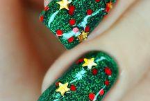 xmas nail art designs & tutorial video gallery by nded / xmas nail art designs & tutorial video gallery by nded  / by nded - nail art designs