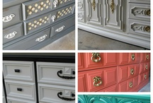 Reburbished Furniture Ideas / by Chantal Rigters