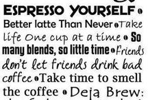 coffee...coffee...coffee / by Lisa Pender