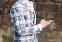 Plaid Blazers / Discover men's plaid blazers and find your outfit inspiration / by Lookastic
