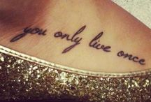 Tattoo <3 Ideas / by Dawn Vinson