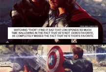 Avengers Assemble / Earth's Mightiest Heroes Type Thing. / by Judith Wettstaed