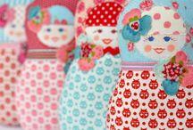 Matryoshka Russian dolls  / Matryoshka Russian dolls / by Nabila Lucas-Ramdani