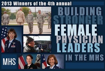 Building Stronger Female Physician Leaders / Winners of the Building Stronger Female Physician Leaders in the Military Health System / by MilitaryHealthSystem