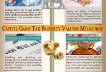Capital Gains Tax Property Valuations Melbourne / by Land Valuers Melbourne