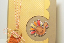 Thanksgiving/fall cards and stuff / by Sylvia Ruthven