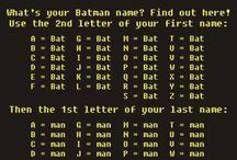 things of epicness... or batman, its pretty much the same / by Amanda Burt