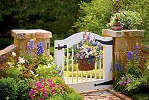 Garden Gates / Uhmmm....garden gates / by Andrea Kroninger
