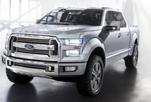 FORD Trucks and Fancy Four Wheelers :) / by Heather Jacobson
