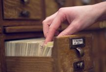 Card Catalogs / by Coos Bay Public Library