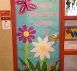 Classroom door ideas / by Erin Martin