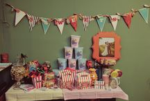 Vintage Carnival Party Ideas / by Cristy Mishkula @ Pretty My Party