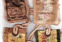 tags and envelopes / by Susan Chrisenberry