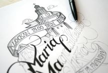 Pencil, Pen & Paint / Doing it old school. / by Art of Craft