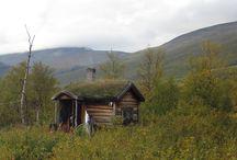 log homes / by Kathy Woody