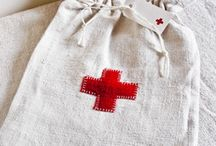 Red Cross Stuff / by Serendipity Refined .
