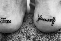 Tatoeages / Geweldige, mooie of aparte ideeën voor een tatoeage. / by Esther